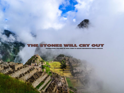 Prayer Focus: The Stones Will Cry Out