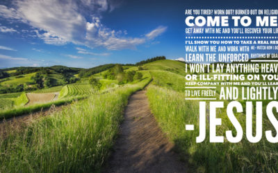 Our Come to Jesus Moment